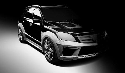 TopCar Mercedes-Benz ML 63 AMG Development Pictures