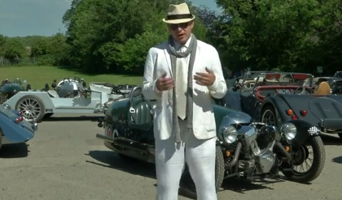Video Alex Roy Visits Morgan Motor Company - Part 1