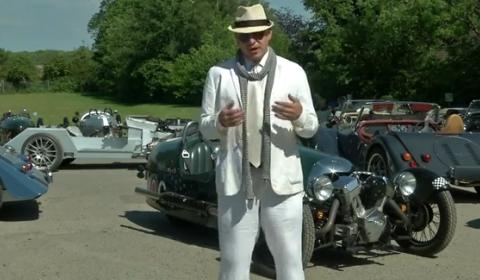 Video Alex Roy Visits Morgan Motor Company - Part 1