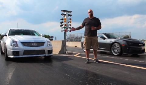Video Matt Farah Drives 700hp Hennessey Camaro ZL1
