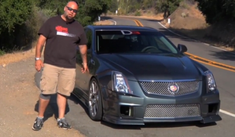 Video Matt Farah Drives 750hp D3 Cadillac CTS-V