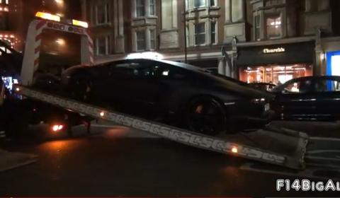 Video Police Impounds Lamborghini Aventador LP700-4