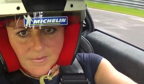 Video Sabine Schmitz Drives Exagon Furtive-eGT at Nurburgring