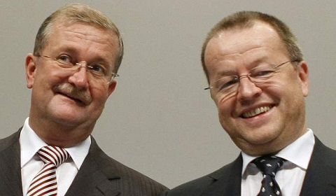 Wendelin Wiedeking and Holger Haerter