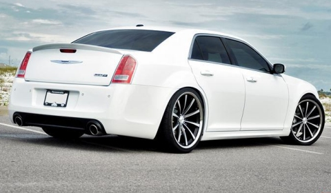 2012 Chrysler 300 SRT-8 on Vossen Wheels
