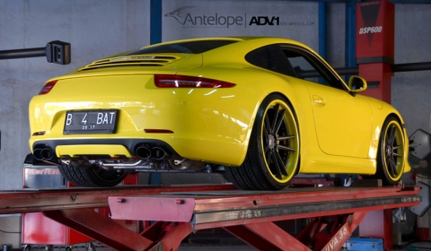 Antelope Ban Porsche 991 Carrera S on ADV.1 Wheels