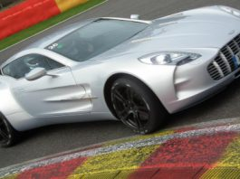 Aston Martin Trackday 2012 at Spa Francorchamps