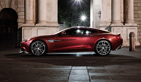 Aston Martin  on Aston Martin Released A New Set Of Images For The Vanquish Recently
