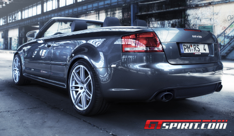 Audi RS4 Convertible with MTM Exhaust System