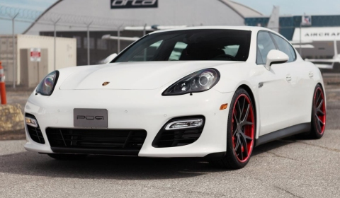 Crimson Crusader Porsche Panamera GTS by SR Auto Group