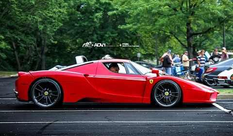 Ferrari Enzo on ADV.1 Wheels