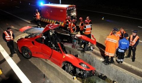Car Crash: Ferrari F430 Horror Accident at Spa Francorchamps