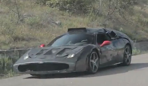 Ferrari F70 Spied Again