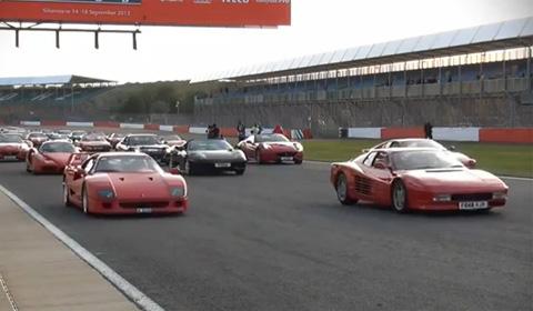 Ferrari Parade World Record