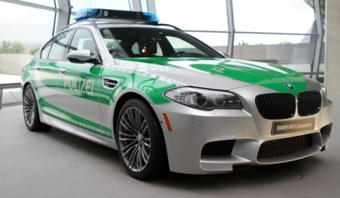First Images of 2012 BMW M5 Polizei Edition