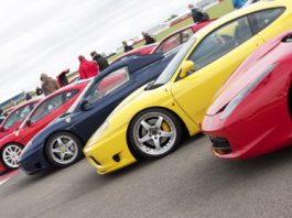 Guinness World Record Attempt at Silverstone 2012