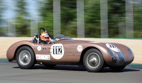 Jaguar Ready to Race at Goodwood Revival 2012