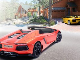 Lamborghini Aventador Roadster by Wild-Speed