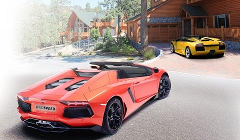 Lamborghini Aventador Roadster by Wild-Speed