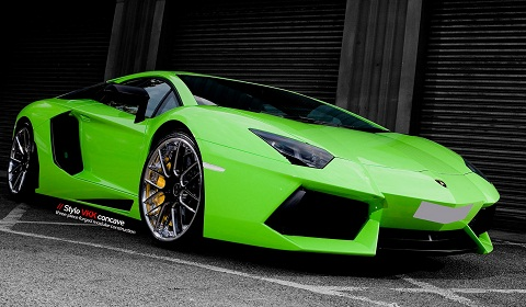 Lamborghini Aventador on Vellano Forged Wheels