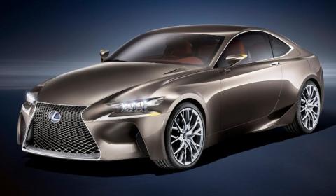 Lexus LF-CC Concept Revealed Ahead of Paris Debut