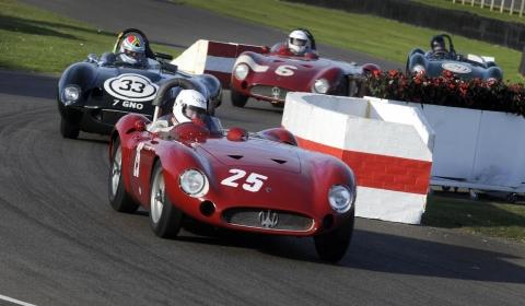 Maserati at Goodwood Revival 2012