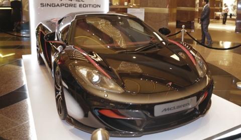 McLaren MP4-12C Singapore Edition
