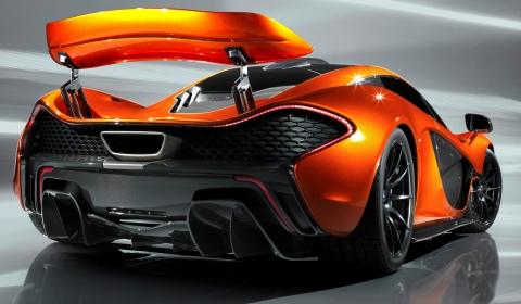 McLaren P1 Design Study Rear Wing