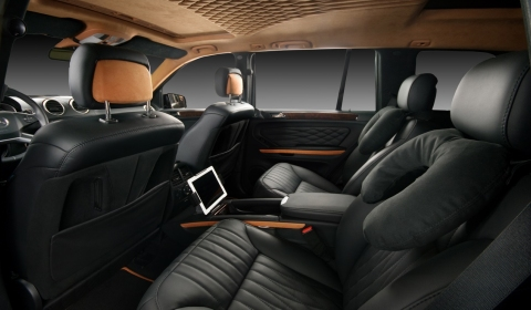 Mercedes-Benz GL Class Interior by Vilner