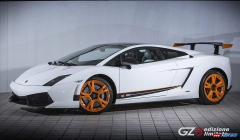 Official Lamborghini Gallardo LP550-2 GZ8 Edizione Limitata - Only China