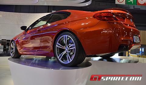 Paris 2012 Akrapovic Exhaust System for 2013 BMW F12M M6