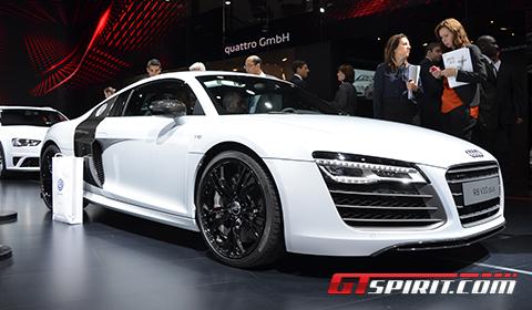 Paris 2012 Audi R8 V10 Plus