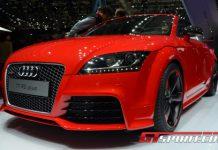 Paris 2012 Audi TT RS Plus Roadster
