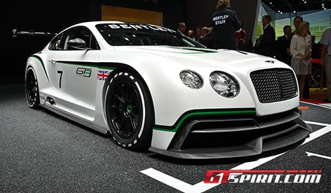 Paris 2012 Bentley Continental GT3 Concept