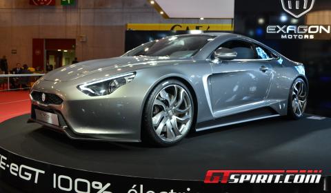 Paris 2012 Exagon Motors Furtive-eGT Production Model