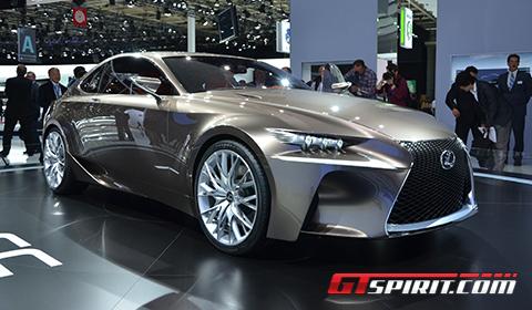 Paris 2012 Lexus LF-CC Concept