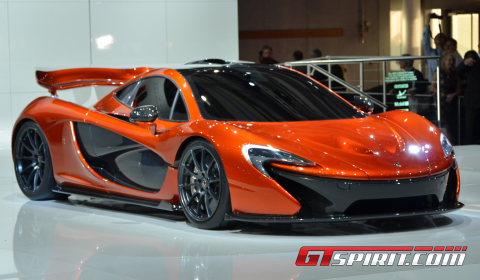 Paris 2012 McLaren P1 Design Study