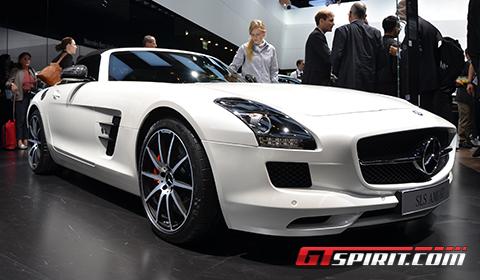 Paris 2012 Mercedes-Benz SLS AMG GT