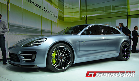 Paris 2012 Porsche Panamera Sport Turismo Concept
