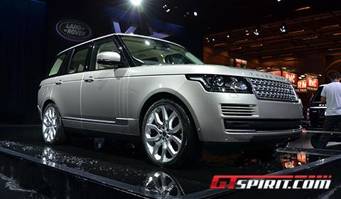 Paris 2012 Range Rover MY 2013