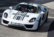 Porsche 918 Spyder Sets Nurburgring Lap Time