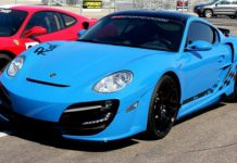 Porsche Cayman Rush to Show at Festivals of Speed Miami