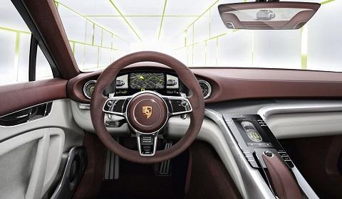 Porsche Panamera Sport Turismo Concept Interior