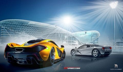 Render McLaren P1 and F1 by Wild-Speed