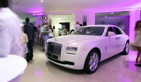 Rolls-Royce Motor Cars Opens Expanded Showroom in Monaco