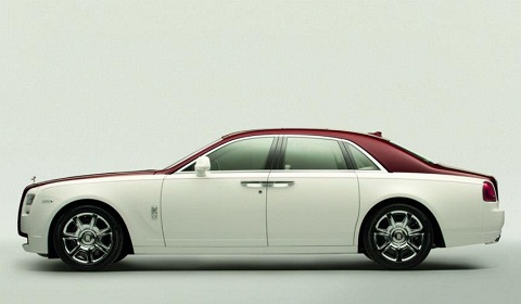 Rolls-Royce Reveals Bespoke Ghost for Qatar