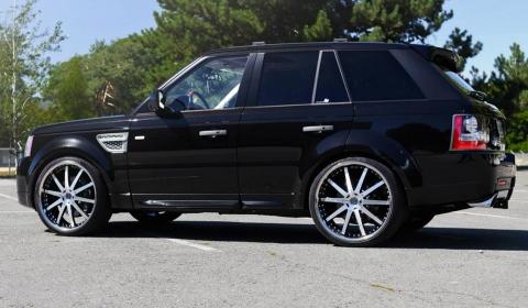SR Auto Group Range Rover on 24 Inch Agetro Wheels