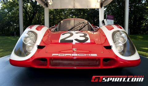 Schloss Bensberg Classics: Porsche Racing Cars