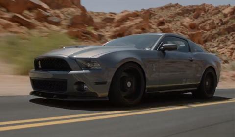 1000hp Shelby Mustang Thunders Through Desert