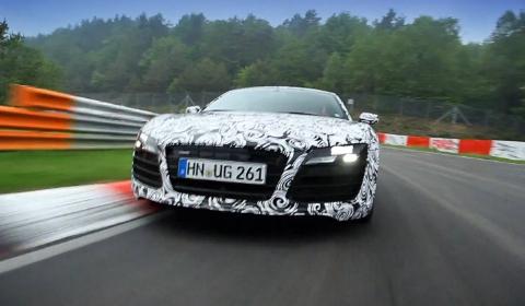 Video 2013 Audi R8 Facelift Development